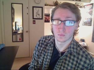 Eric, with laser eyes.