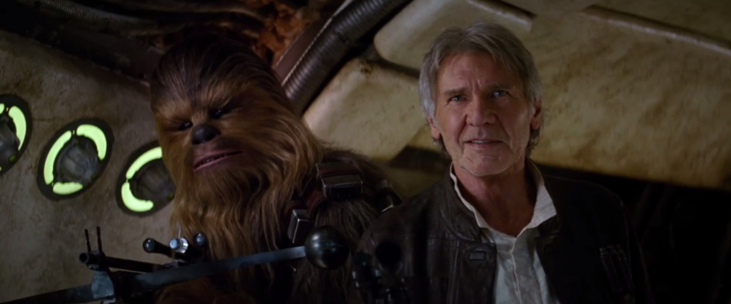 Chewie...we're home.