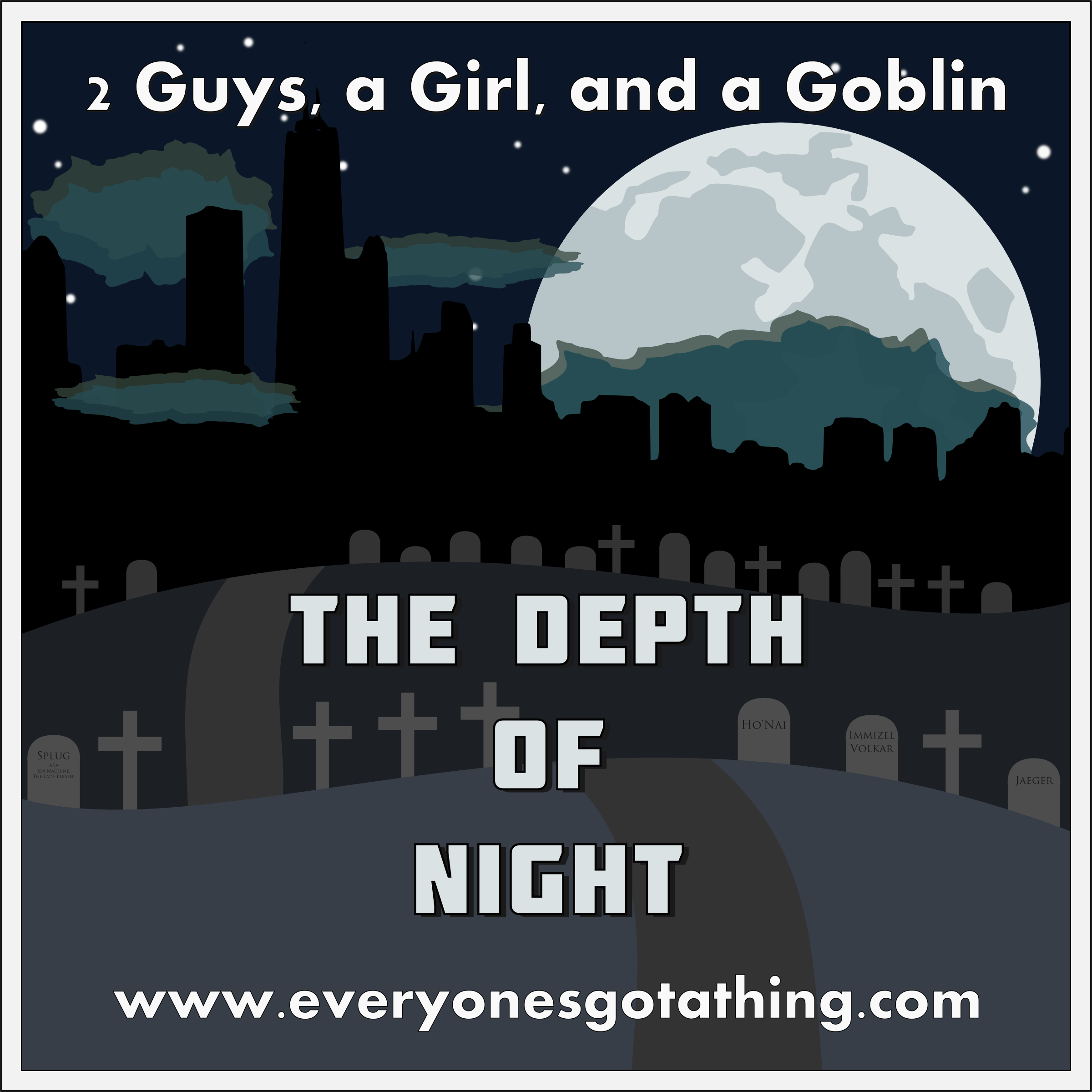 2 Guys, a Girl, and a Goblin logo
